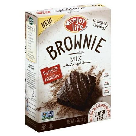 Mix Baking Mixes - Enjoy Life, Baking Mixes, Mix Brownie Gf, 14.5 Oz (Pack Of 6)