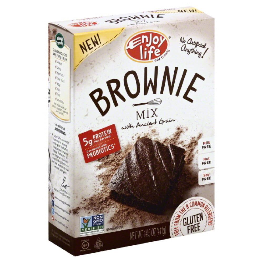 Enjoy Life, Baking Mixes, Mix Brownie Gf, 14.5 Oz (Pack Of 6)