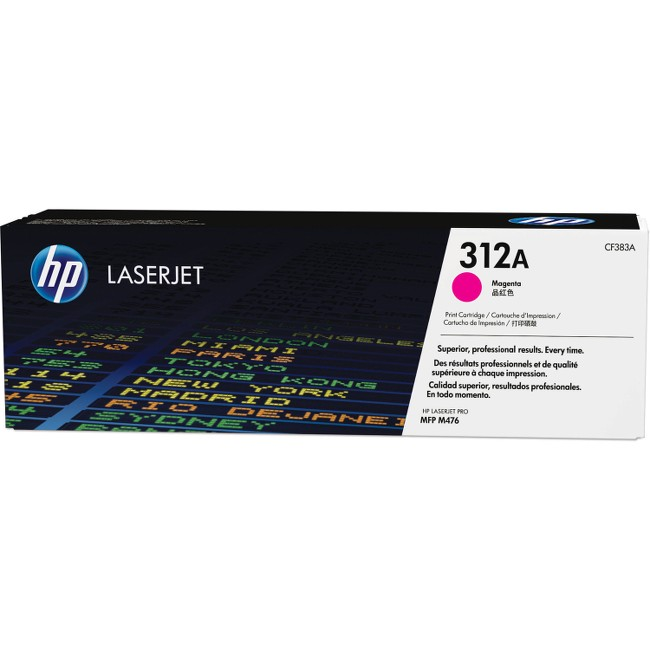 HP 312A (CF383A) Magenta Original LJ Toner Cartridge
