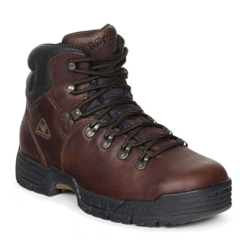 """Men's Rocky 5"""" Mobilite ST EH WP Work Boots BROWN 7 M by"""