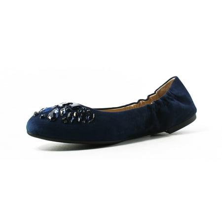 Best Tory Burch Womens  Blue Ballet Flats Size 9.5 New deal
