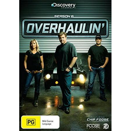 Overhaulin' (Season 6) - 3-DVD Set ( Overhaulin' - Season Six ) [ NON-USA FORMAT, PAL, Reg.0 Import - Australia ] (Usa Vs Australia Halloween)