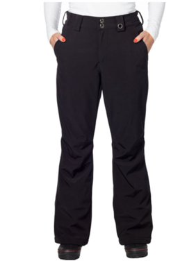 5ef649598 Product Image Gerry Women's Snow-Tech Fleece Lined Stretch Ski Pant (Black,  X-Large