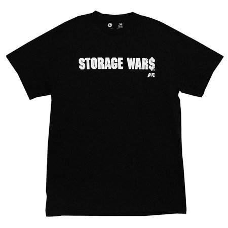 Storage Wars Logo A&E TV Show Adult T-Shirt Tee (Store Adults)