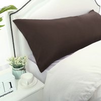 PiccoCasa Body Pillowcase Microfiber Long Bolster Pillow Case Covers