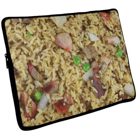 Pork Fried Rice Laptop Sleeve 17 Inch