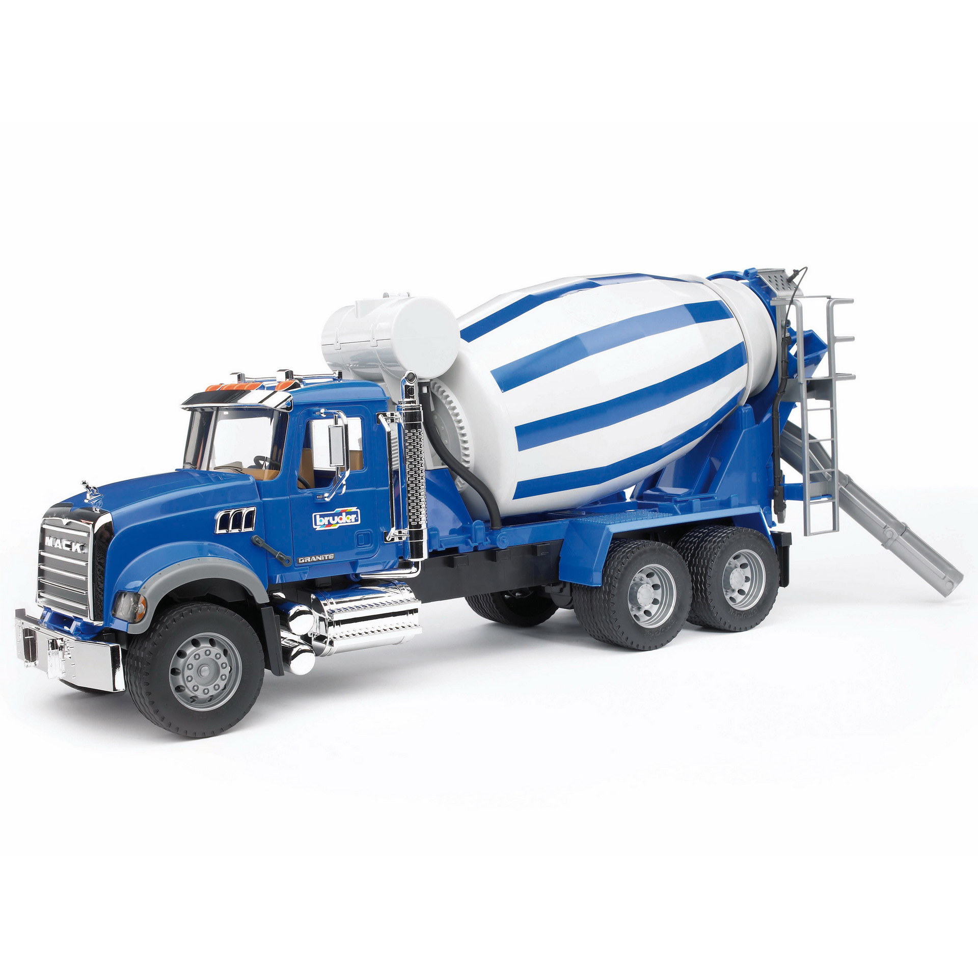 Bruder Toys Construction Vehicle MACK Granite Cement Mixer Truck with Barrel by Bruder Toys