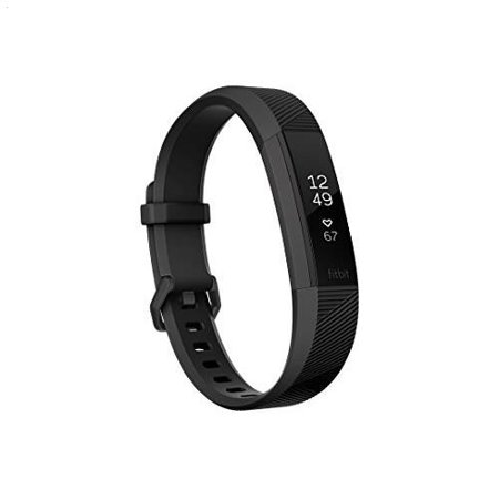 Fitbit Alta Hr Heart Rate Wristband   Small  Special Edition Black Gunmetal