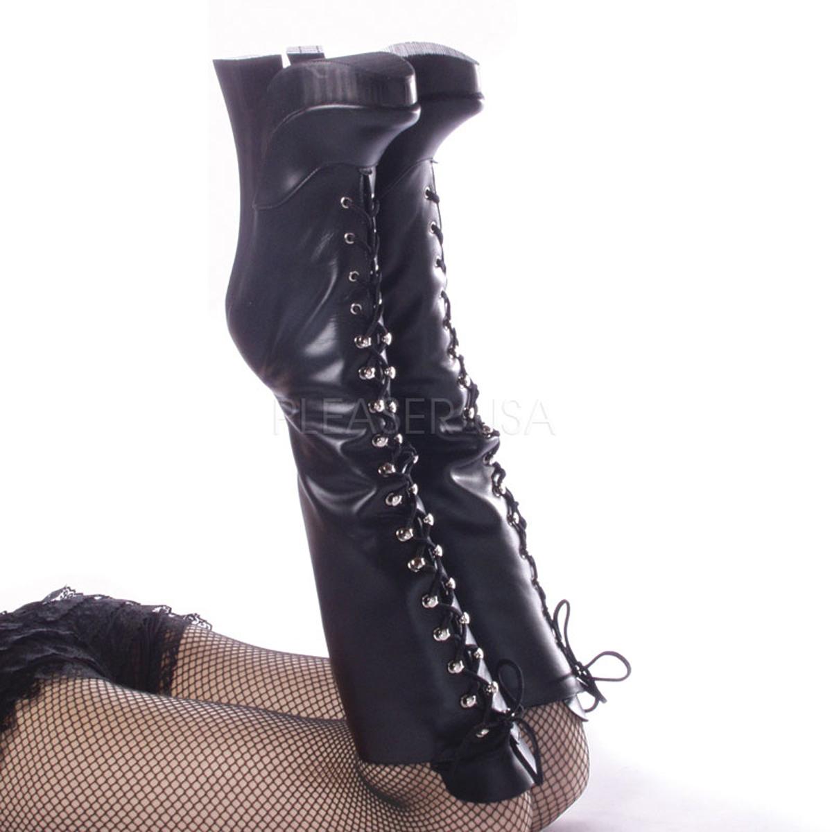 Pleaser Femme-2020, 8;; Block Heel Boots