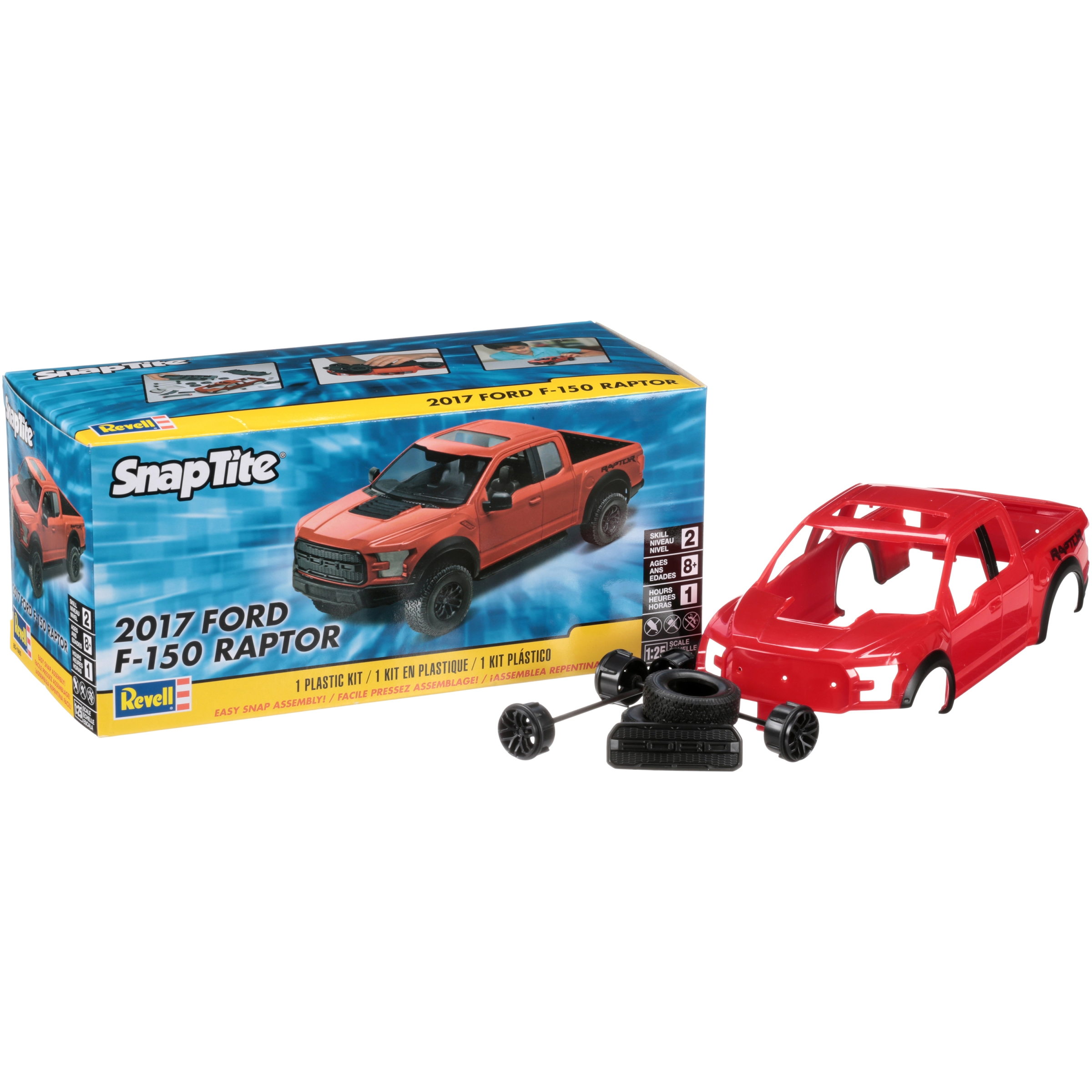 Revell Snaptite  Ford F  Raptor Plastic Model Truck Kit