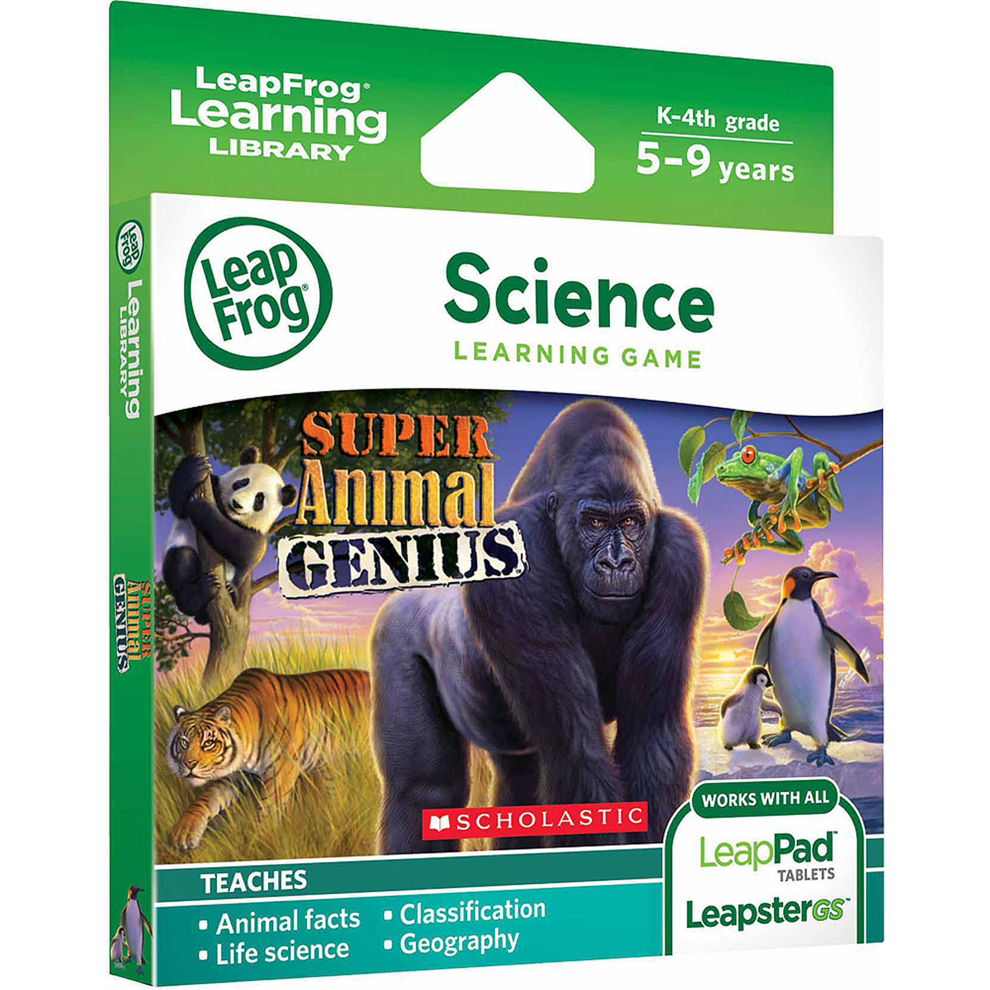 Leapfrog Super Animal Genius With Free App