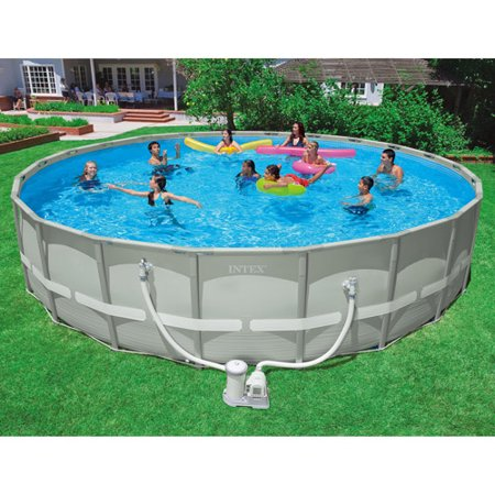 intex 24 x 52 ultra frame above ground swimming pool