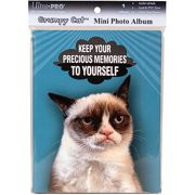 Ultra PRO 58207-R Grumpy Cat Mini Photo Album, 4 by 6-Inch, Memories Multi-Colored