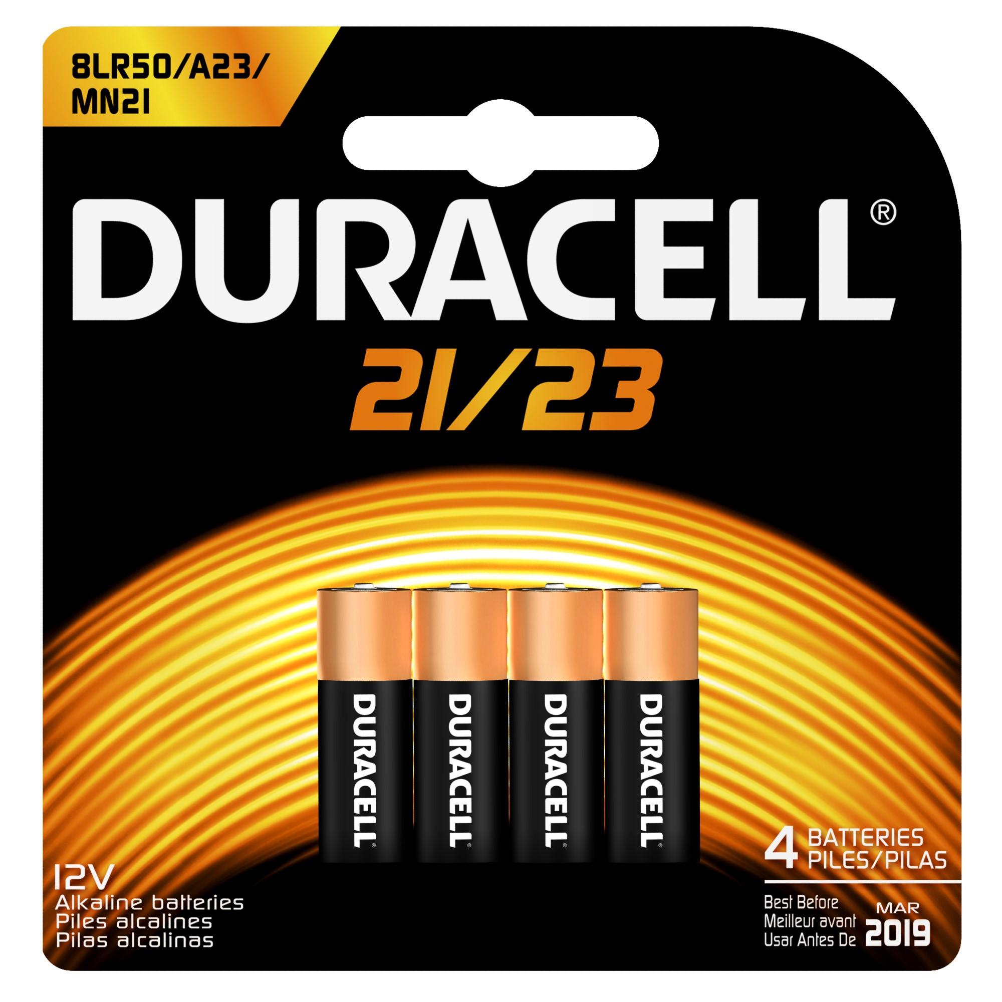 Duracell Alkaline MN21/23, 4 Count