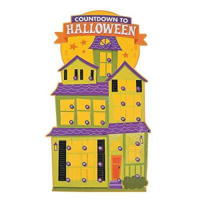 IN-13775206 Jumbo Halloween Countdown Calendars Per Dozen