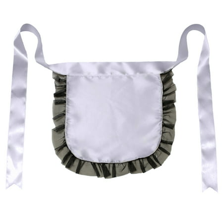 Maid Costume Ideas (SeasonsTrading Nurse or Maid Apron with Black Lace Ruffles Costume)