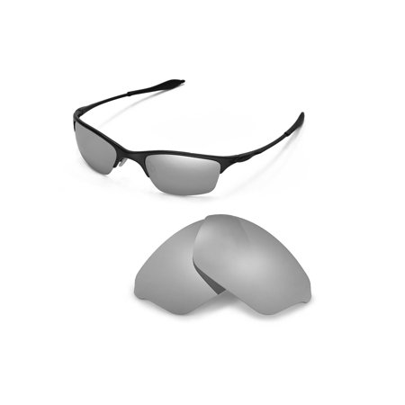 a3492bf57f Walleva - Walleva Titanium Polarized Replacement Lenses for Oakley Half  Wire XL Sunglasses - Walmart.com