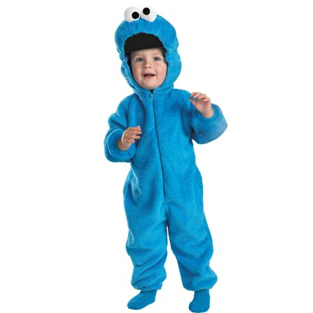 Sesame Street - Cookie Monster Infant / Toddler Costume - 4-6 (Sesame Street Costumes For Babies)