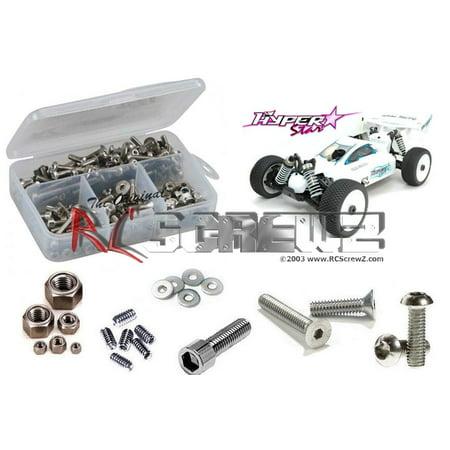 RC Screwz Stainless Steel Screw Kit for OFNA Hyper Star E #ofn006