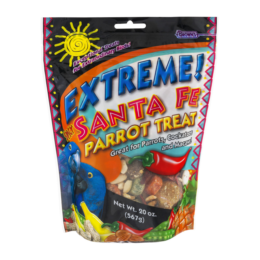 Brown's Extreme! Spicy Santa Fe Parrot Treat, 20.0 OZ