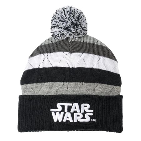 Star Wars Disney Striped Beanie Hat One Size Adult Unisex