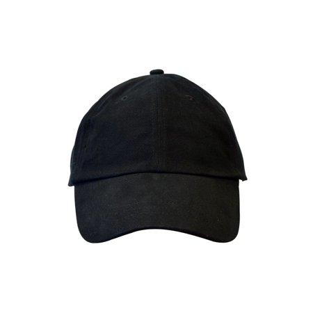 KC Caps Unisex Cotton Baseball Cap Adjustable Plain Hat (21 - Plain Baseball Caps