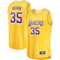 Aric Holman Los Angeles Lakers Fanatics Branded Fast Break Replica Jersey Gold - Icon Edition