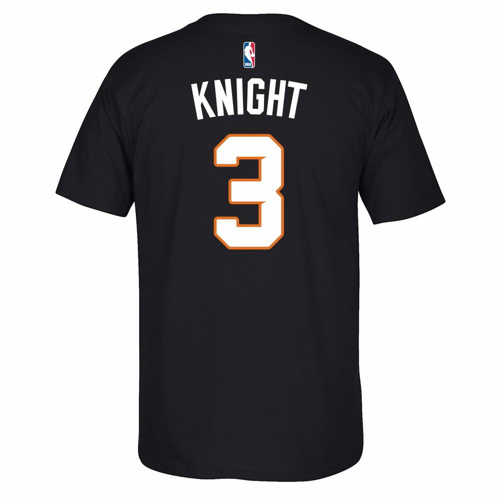 Brandon Knight Phoenix Suns NBA Adidas Black Name & Number Player Jersey Team Color T-Shirt For Men
