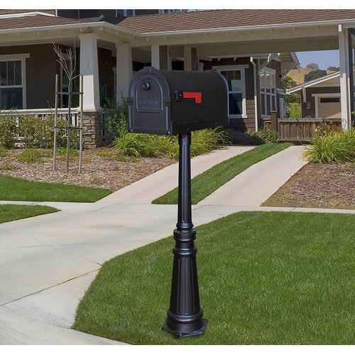 Special Lite Products Savannah Mailbox with Post Included by Special Lite