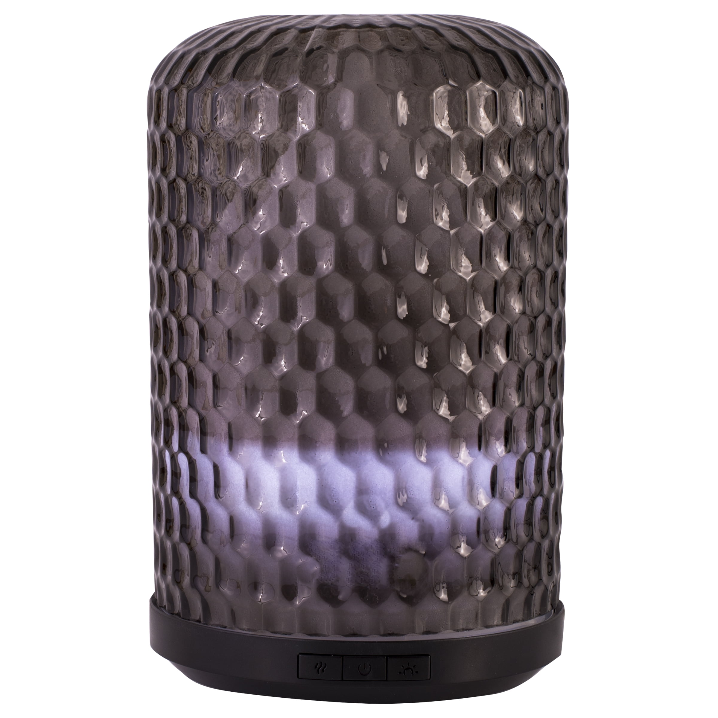 Better Homes & Gardens 250 mL Aroma Diffuser, Hammered Glass