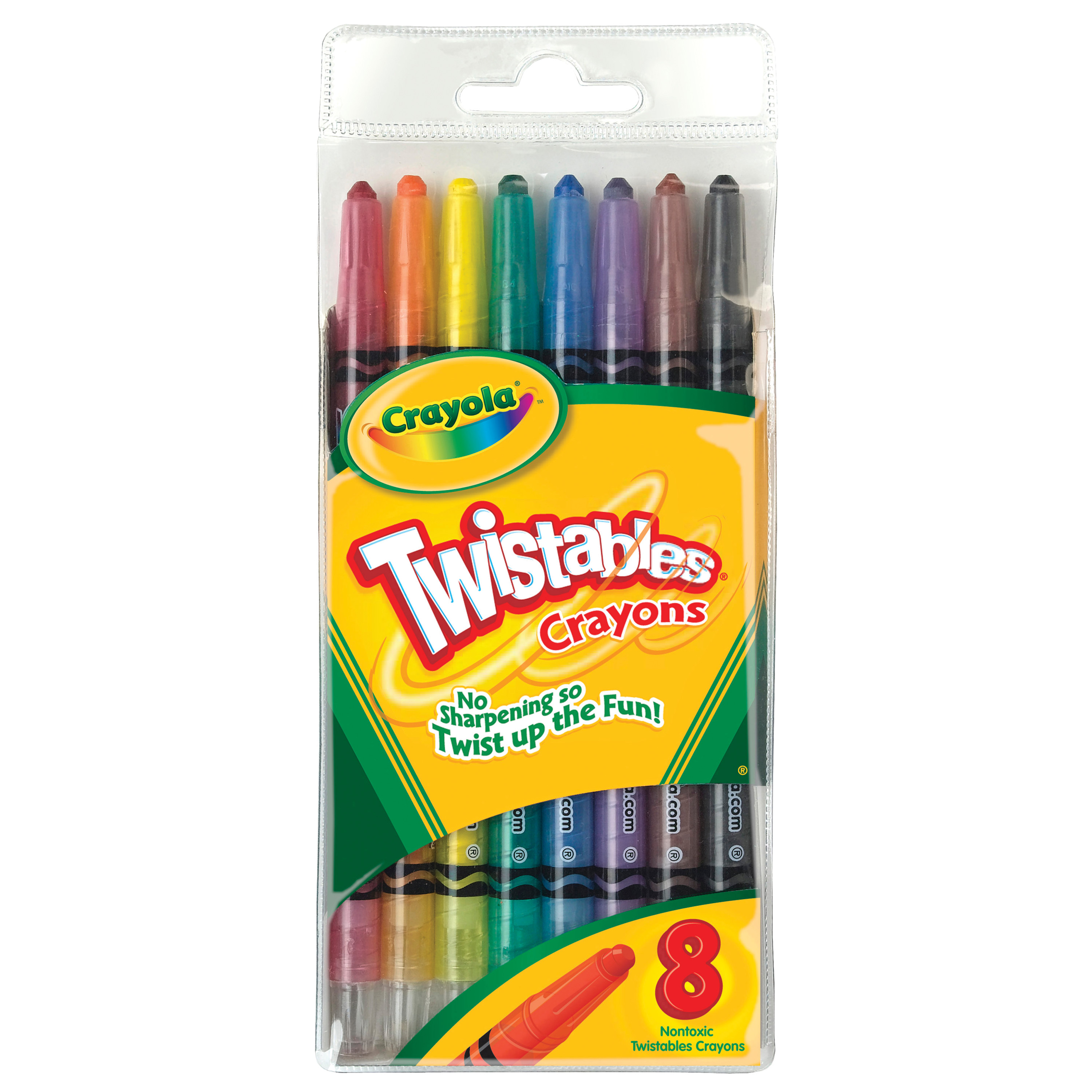 Crayola Twistables Crayon Set, 8 Colors