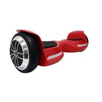 Hoverboard- 6.5 inch UL2272 Certified Electric Smart Self Balancing Scooter with Built-In Bluetooth Speaker- Red