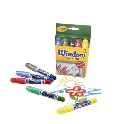 Crayola Window Crayons, 5-Count