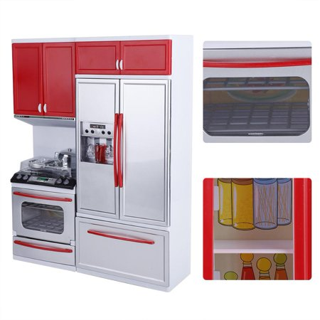 Sonew Mini Kitchen Pretend Role Play Toy Set Kids Girls Funny Kitchenware Playing House Birthday Gift, Kitchen Play Toys, Kitchen Toy Set - image 10 of 12