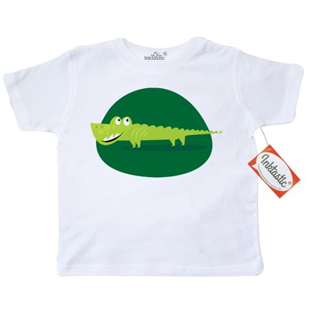 Inktastic Alligator Kids Jungle Animals Toddler T Shirt Crocodile Cute Scary Kid