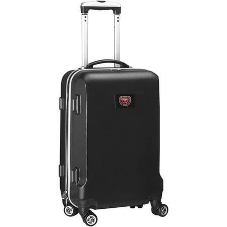 NCAA Missouri State Bears Black Hardcase Spinner Carry On Suitcase