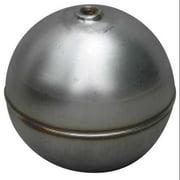 NAUGATUCK GR20S4281B Float Ball,Round,SS,2 In
