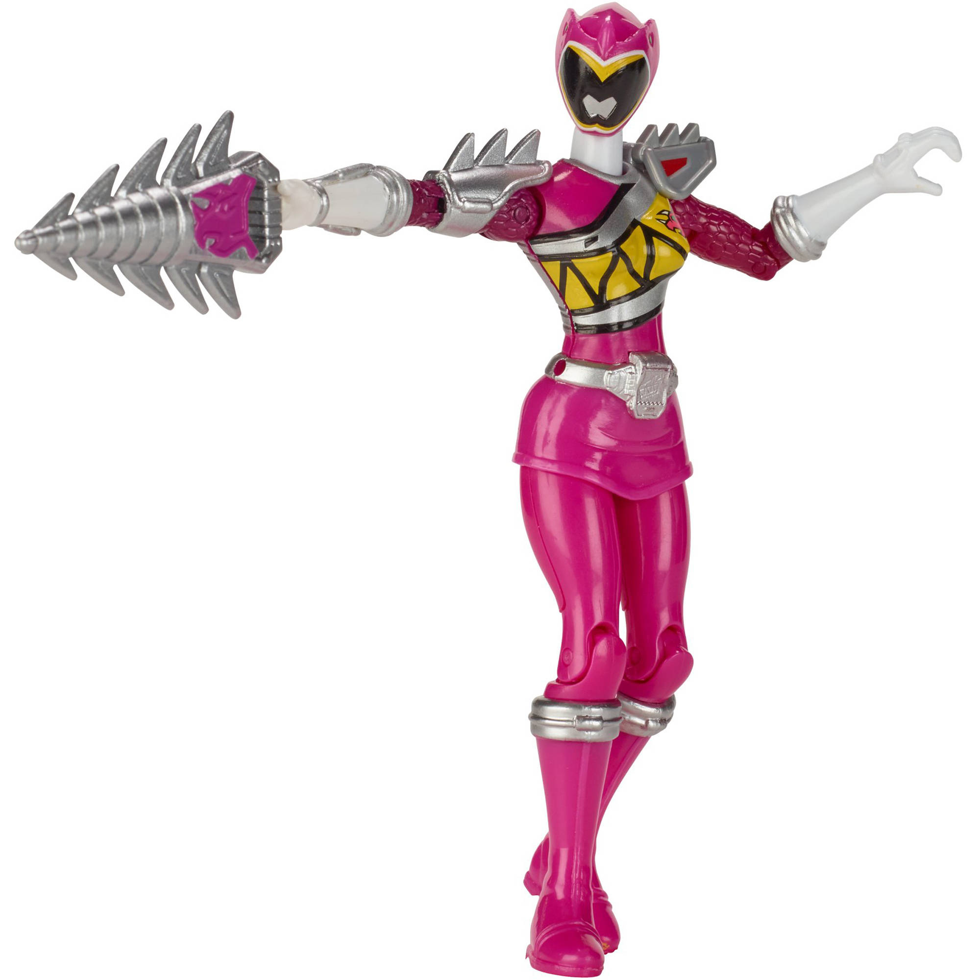 Power Rangers Dino Super Charge Dino Steel Pink Ranger by Bandai America