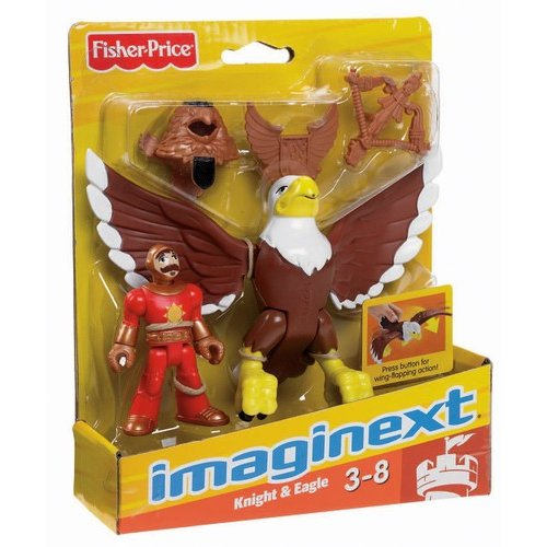 Fisher-Price Imaginext Knight and Eagle Figures
