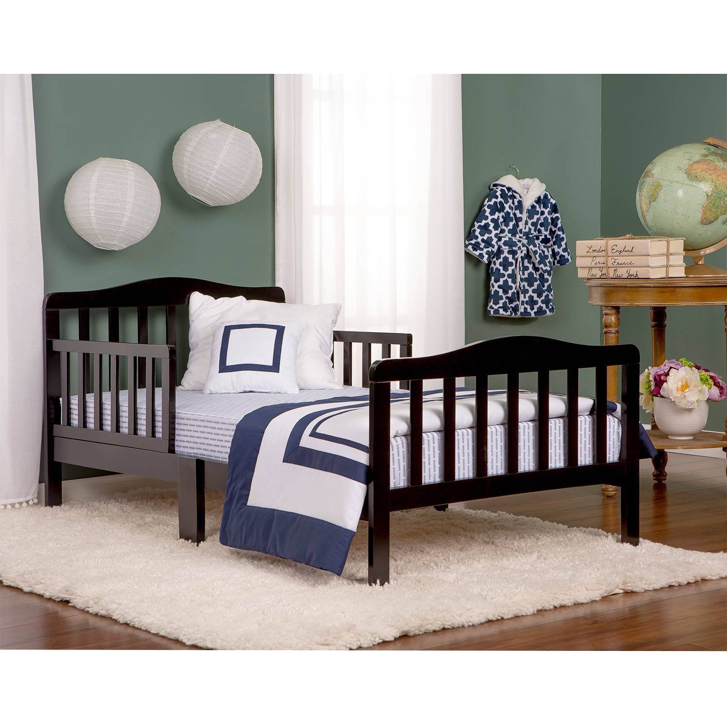 Good Dream On Me Classic Design Toddler Bed, Choose Your Finish   Walmart.com