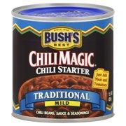 BUSH'S Traditional Mild Chili Magic Chili Starter, 16 oz Canned Beans