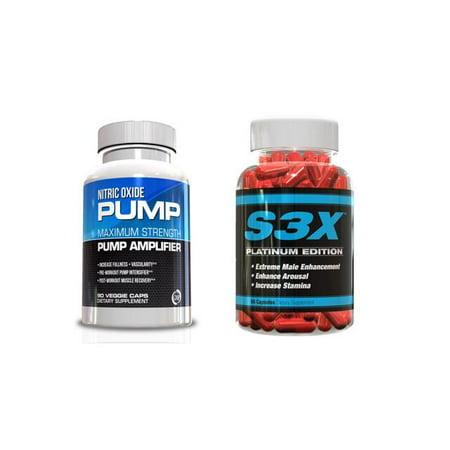 Homme Performance Kit- l'oxyde nitrique et S3X Supplément Homme