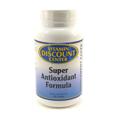 Formule de Super Antioxydant par Vitamin Discount Center 180 comprimés