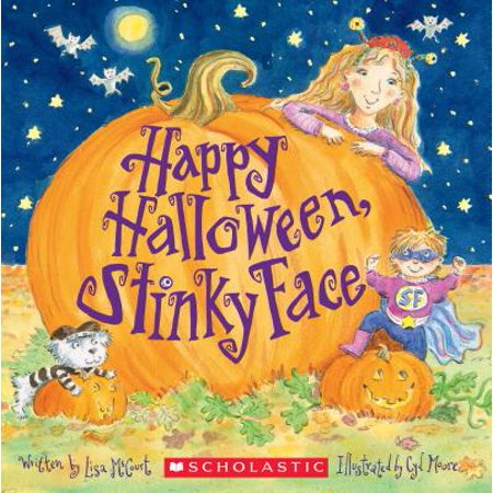 Happy Halloween, Stinky Face (Paperback)](Printable Halloween Book Jackets)