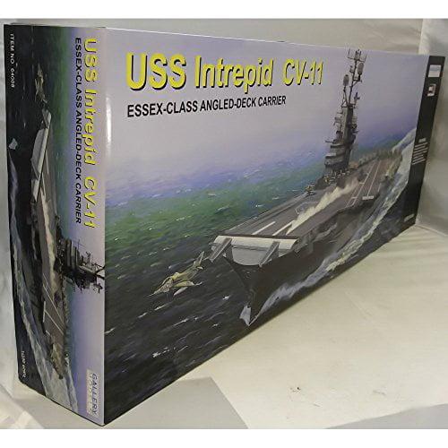 USS Intrepid Model 1/350 Scale Multi-Colored