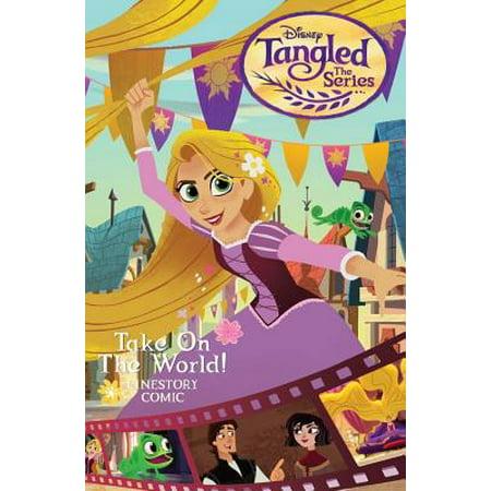 Take Series (Disney Tangled: The Series: Take on the World Cinestory Comic)