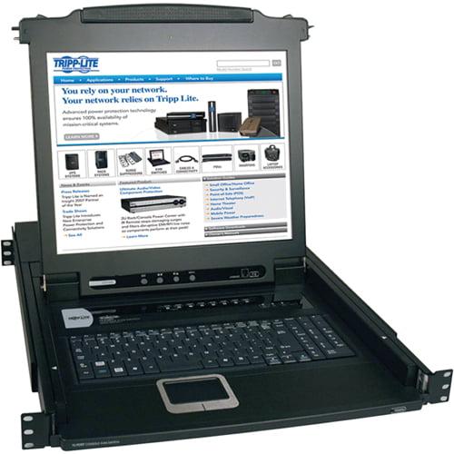 Tripp Lite B020-008-17 8-Port 1U Console KVM Switch by Tripp Lite
