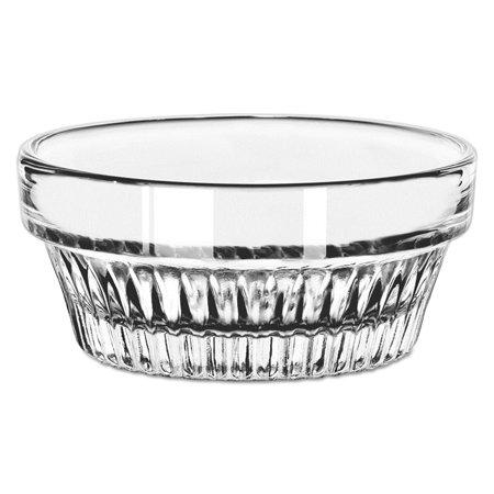 Winchester Ramekins, Glass, 1 1/2 oz, Round, Clear, (Winchester Glasses)