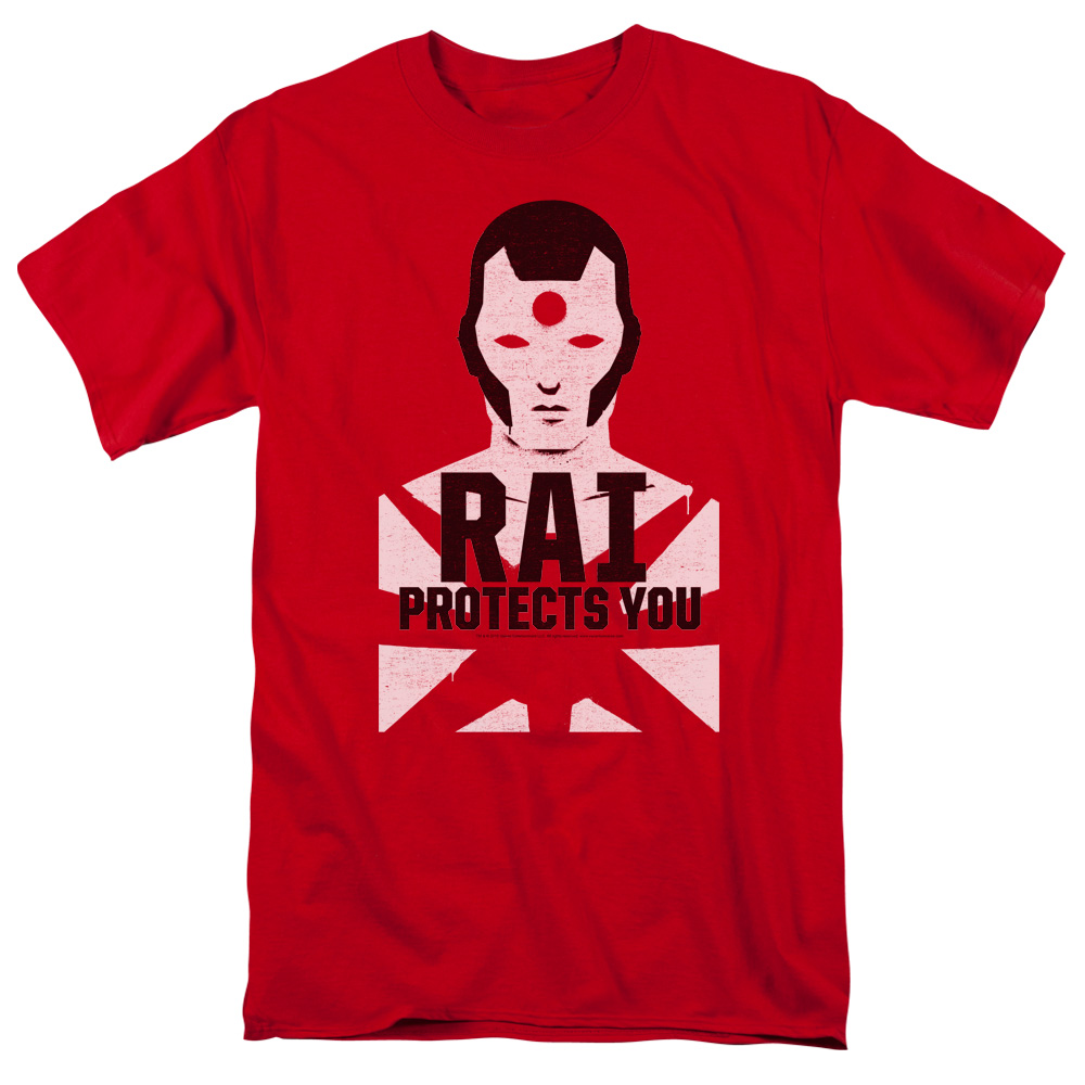 Rai/Protector S/S Adult 18/1 Red   Val172