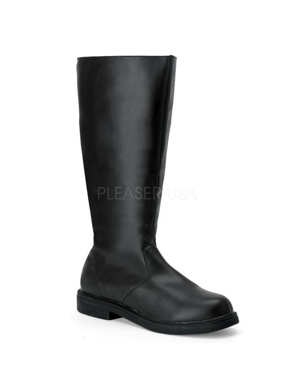 CAP100/B/PU Funtasma Men's Boots BLACK Size: M